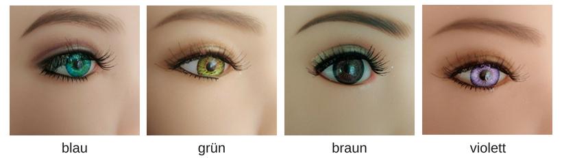 Augenfarben Z-one
