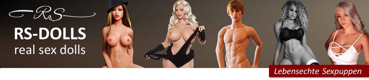 Lebensechte Sexpuppen / Liebespuppen / Silikon Real Doll - RS-DOLLS