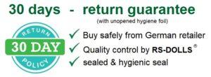 30 days return guarantee