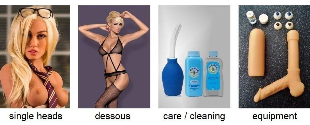 equipment single heads dessous care cleaning