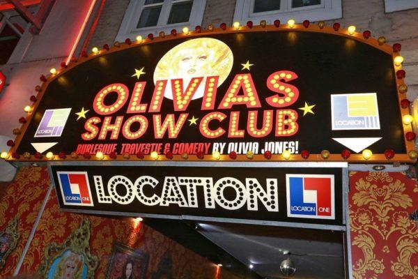 "In Olivias Show Club - St-Pauli / Reeperbahn ""Grosse-Freiheit"""
